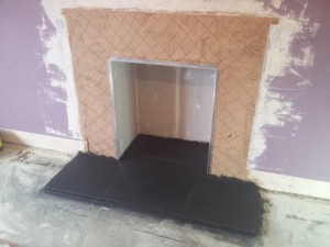 installing a hearth